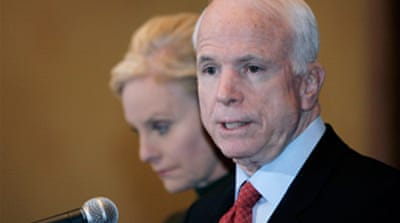 McCain denies having 'affair'
