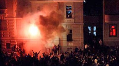 Serbia vows to hunt Kosovo rioters