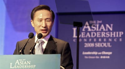 Lee set to become S Korea president