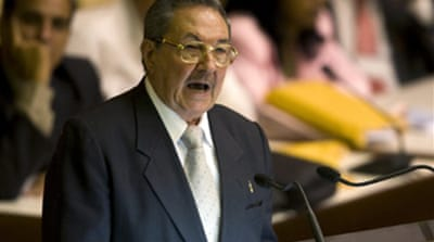 Raul Castro named Cuban president