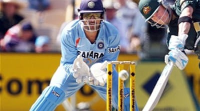 Gloves off for India's Dhoni