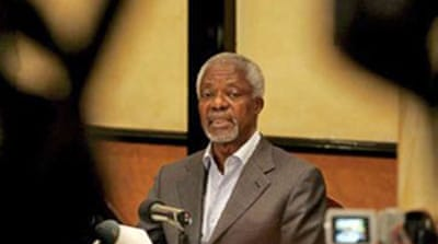 ?Annan suspends Kenya negotiations
