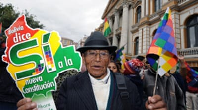 Bolivia to hold constitutional vote