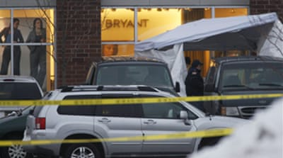Fatal shooting at US store