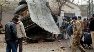 Deaths in Pakistan suicide blast