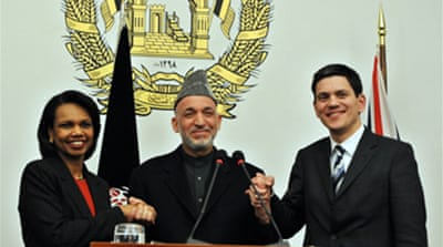 Nato pledges sought for Afghanistan
