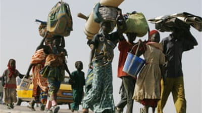 Chad refugees return to capital