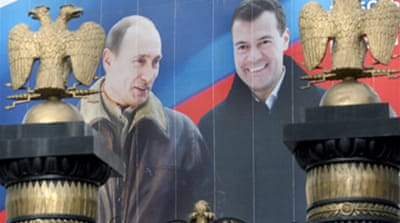Russia election: Who's who
