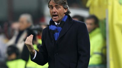Mancini believes Inter can progress