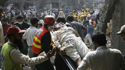 Dozens killed in Lahore attacks