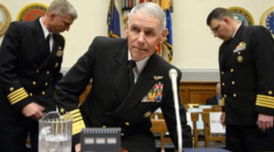 US commander quits 'over Iran'