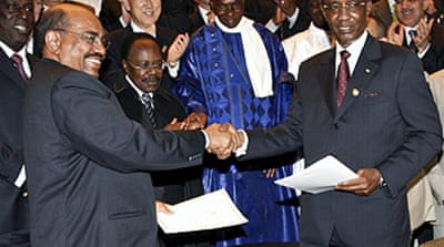Sudan and Chad sign peace deal