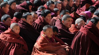 Tibetan protests turn violent