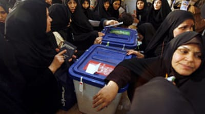Polls close late in Iran elections