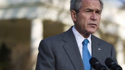 Bush waives law to help Pakistan