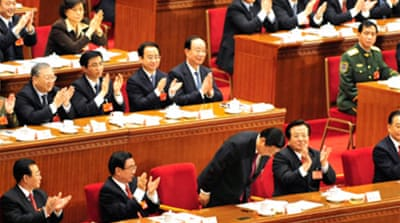 China elects likely successor