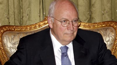 Cheney visits Afghanistan