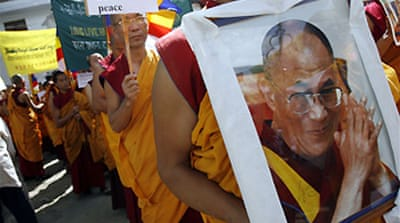 Dalai Lama calls for calm in Tibet
