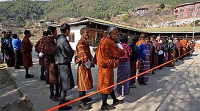Polls close in landmark Bhutan vote