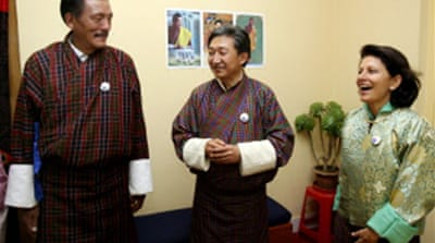 Landslide win for Bhutan royalists