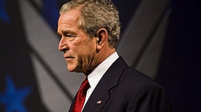 Bush lauds 'pace of Iraq progress'