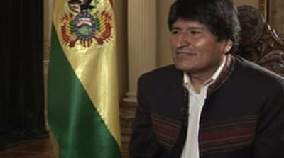 Morales accuses US of 'conspiracy'