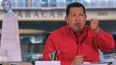 Chavez beefs up Colombia border