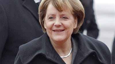 Merkel in Moscow for talks