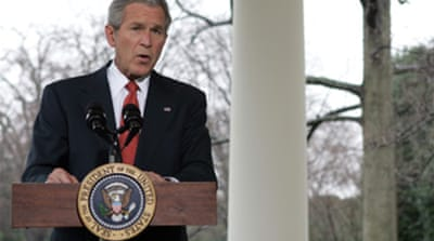 Bush vetoes waterboarding ban