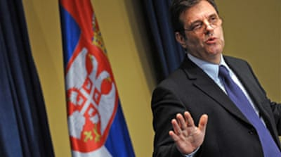 Serbian government collapses