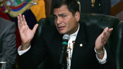 Ecuador rethinks Colombia pledge