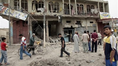 Air raid kills more in Baghdad