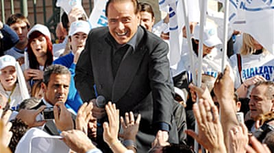 Berlusconi tipped to win Italy vote