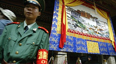 China hits out at US over Tibet