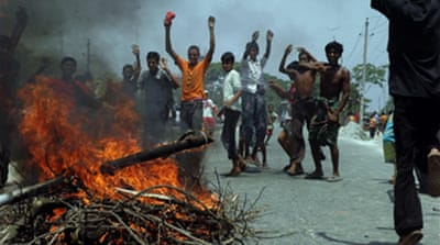 Bangladesh hit by food price riots