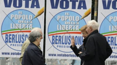 Italy voting enters final day