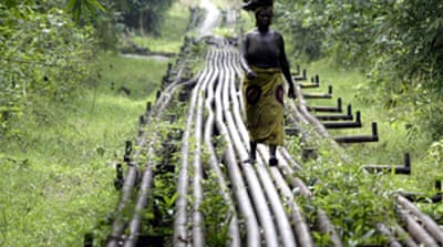 Nigeria Shell pipeline 'sabotaged'