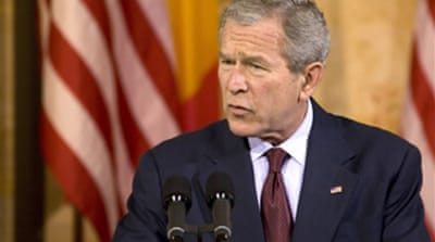 Bush loses out in Bucharest