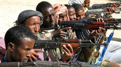 Fighting flares in Somalia