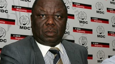 Zimbabwe MDC leader claims victory
