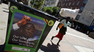 Zimbabwe poll battle goes to court