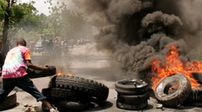 Haiti reels from food protests