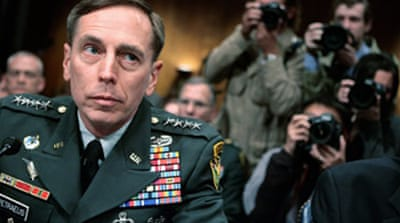 Petraeus urges halt to Iraq pullout