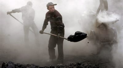 China's miners toil in misery