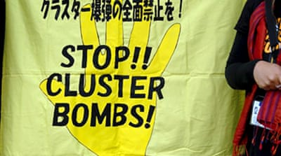 Cluster bomb ban adopted
