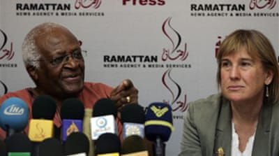 Tutu shocked by Gaza conditions