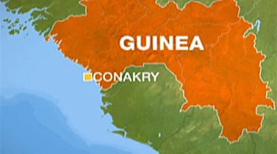 Talks held to end Guinea revolt
