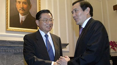 Talks signal China-Taiwan thaw