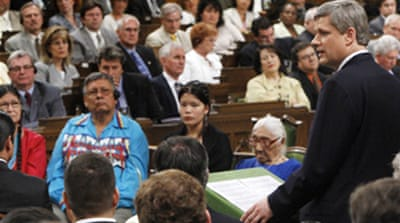 PM apologises to native Canadians