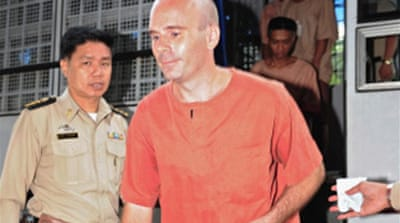 Thai court tries paedophile suspect